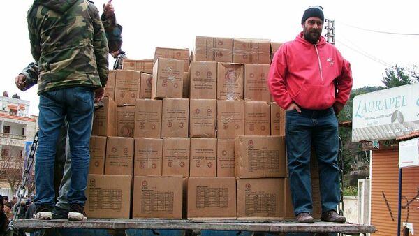 Russia delivered humanitarian aid to Syria - Sputnik International