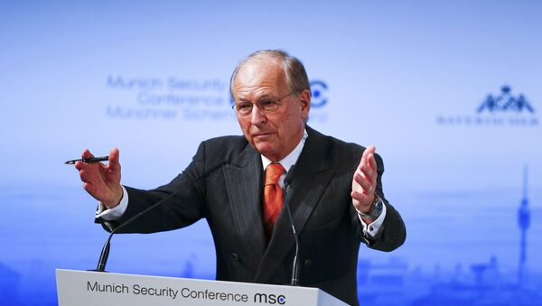 The chairman of the Conference on Security Policy Wolfgang Ischinger addresses the Munich Security Conference in Munich, Germany, February 12, 2016. - Sputnik International