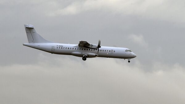 An ATR 72 aircraft - Sputnik International