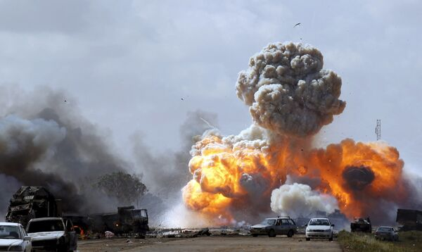 Arab Spring in Libya: The Merciless Destruction of a Once-Prosperous State - Sputnik International