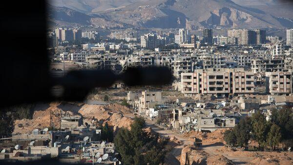 Jobar, a district of Damascus controlled by Jabhat al-Nusra militants - Sputnik International