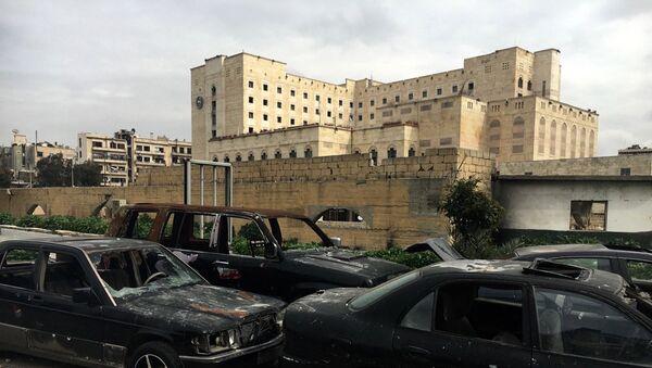 Syrian city of Aleppo - Sputnik International