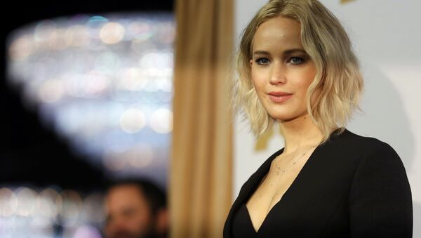 Actress Jennifer Lawrence arrives at the 88th Academy Awards nominees luncheon in Beverly Hills, California February 8, 2016. - Sputnik International
