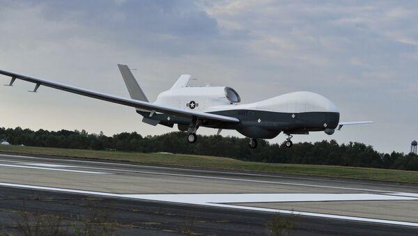 The MQ-4C Triton unmanned aircraft system - Sputnik International