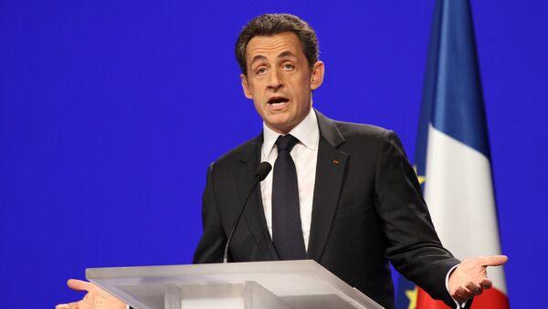 French ex-President Nicolas Sarkozy - Sputnik International
