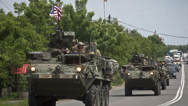 US Army armored vehicles - Sputnik International