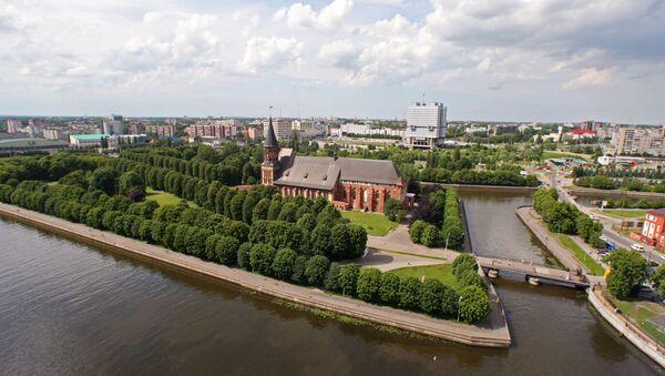 Russian cities. Kaliningrad - Sputnik International