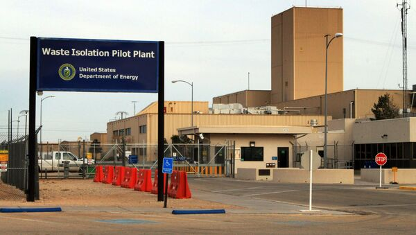 This March 6, 2014 file photo shows the idled Waste Isolation Pilot Plant, the nation's only underground nuclear waste repository, near Carlsbad, N.M. - Sputnik International