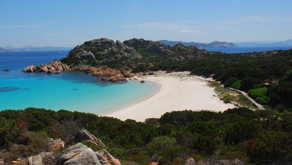 Spiaggia Rosa, 'Pink Beach,' on the island of Budelli off the coast of Sardinia - Sputnik International