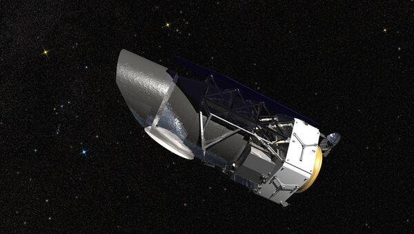 Artist conception of the Wide Field Infrared Survey Telescope (WFIRST) - Sputnik International