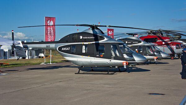 Ansat multipurpose utility helicopters - Sputnik International