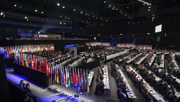 The Extraordinary FIFA Congress is currently underway in Zurich, with one of its aims being the election of the new FIFA president. - Sputnik International
