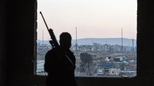 Jobar, a district of Damascus controlled by Jabhat al-Nusra militants (File) - Sputnik International