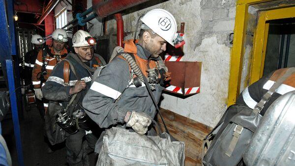 Severnaya mine in Vorkuta suspends operation after rockburst - Sputnik International