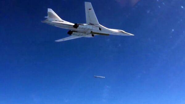Russian Air Force's long-range aircraft hit Daesh targets in Syria - Sputnik International