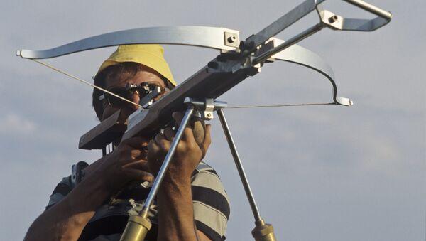 A crossbow shooter - Sputnik International