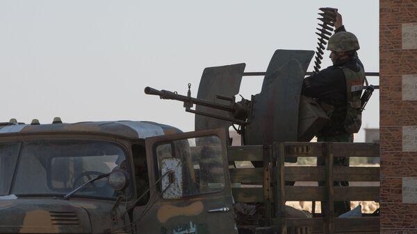 Soldiers of the Syrian Arab Army (SAA) (File) - Sputnik International