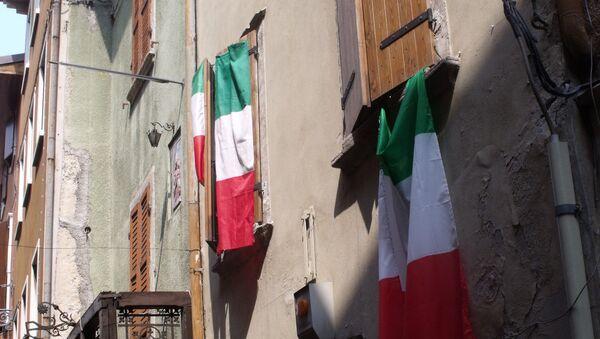 Italian flags - Sputnik International