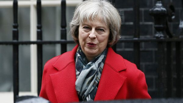 Britain's Home Secretary Theresa May leaves Number 10 Downing Street after attending a cabinet meeting in London, Britain March 1, 2016. - Sputnik International