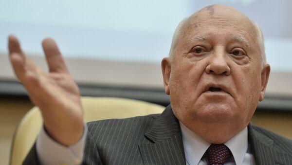 Presentation of Gorbachev in Life book - Sputnik International
