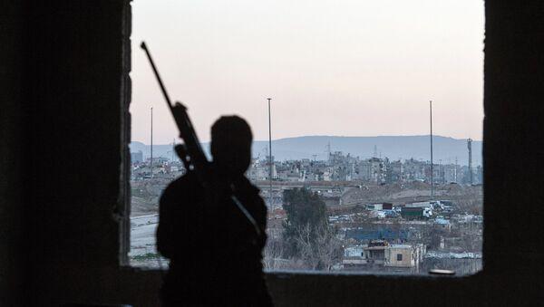 Jobar, a district of Damascus controlled by Jabhat al-Nusra militants. (File) - Sputnik International