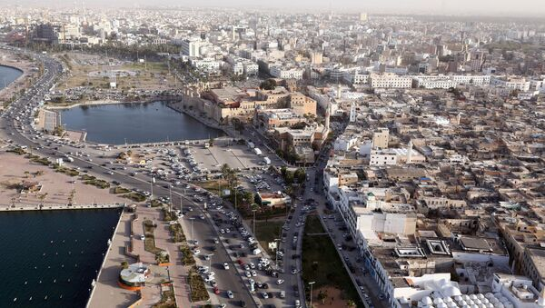 An aerial shot taken from a helicopter shows the Libyan capital Tripoli. (File) - Sputnik International