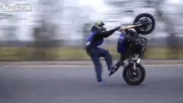 Bike stunt - Sputnik International
