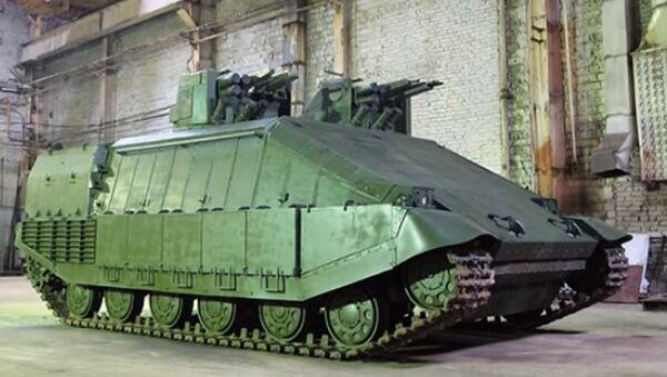 Azovets tank - Sputnik International
