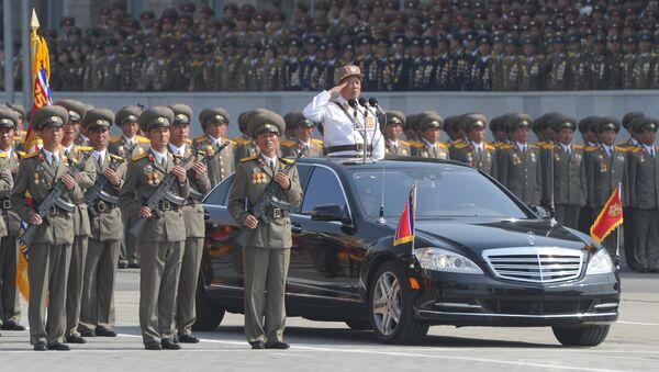 Military parade marks Kim Il-sung's 100th birthday - Sputnik International