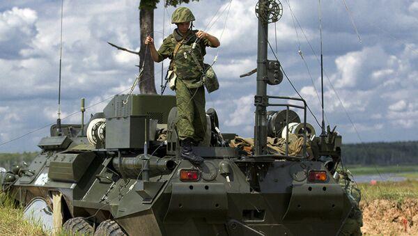 Russian Communication Troops - Sputnik International