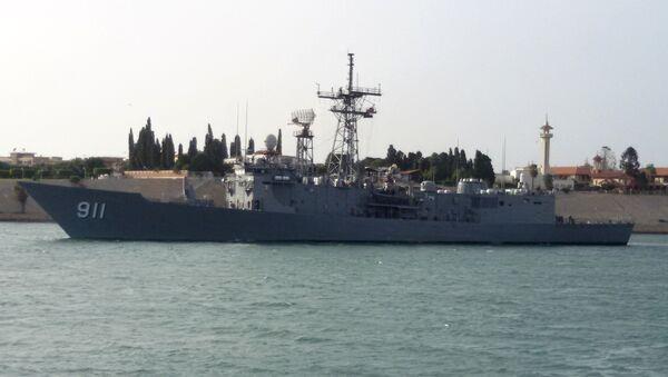 Egyptian navy FFG-7 frigate - Sputnik International