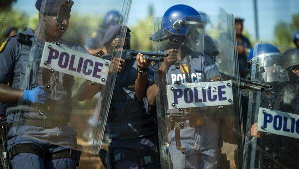 South African police - Sputnik International