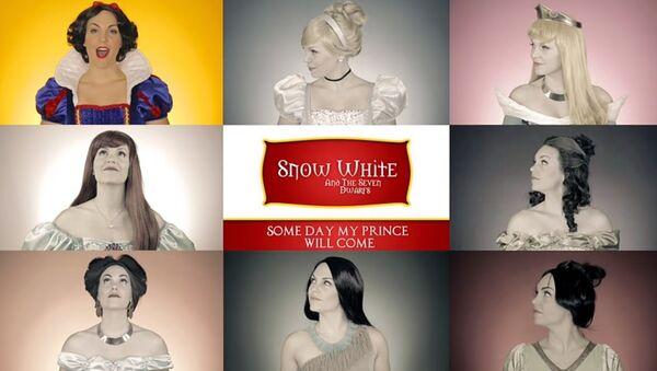 Evolution of the Disney Princess - Sputnik International
