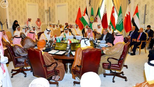 Foreign Ministers of the Gulf Cooperation Council (GCC) countries meet in Riyadh, Saudi Arabia (File photo). - Sputnik International