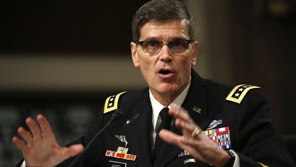 US Army General Joseph Votel testifies during a Senate Armed Services Committee hearing on Votel's nomination to be commander of the U.S. Central Command on Capitol Hill in Washington March 9, 2016. - Sputnik International