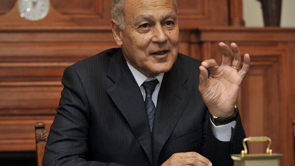 Former Egyptian Foreign Minister Ahmed Aboul Gheit. - Sputnik International