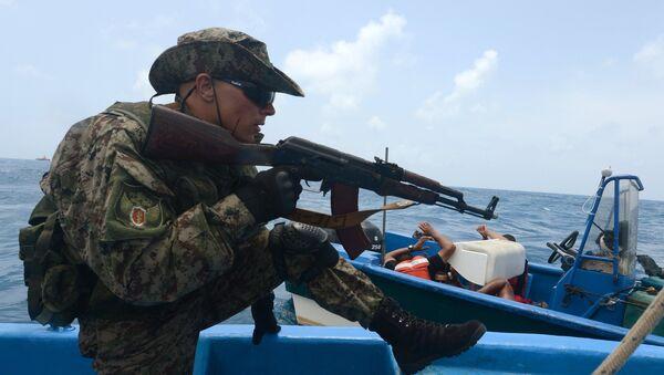 Учения наркополиции России и стран Латинской Америки Шторм-2014 в Карибском море - Sputnik International