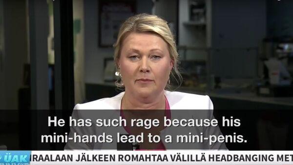 Finnish News Anchors Know It All About US Presidential Run - Sputnik International