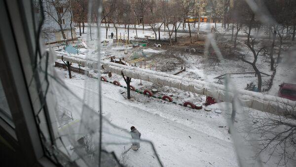 Gorlovka after shelling. File photo - Sputnik International