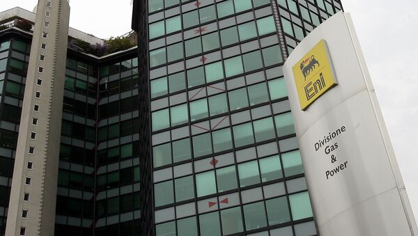 A view of the Italy's energy giant Eni Spa headquarters in San Donato, in the outskirts of Milan, Italy, Wednesday, April 4, 2007 - Sputnik International
