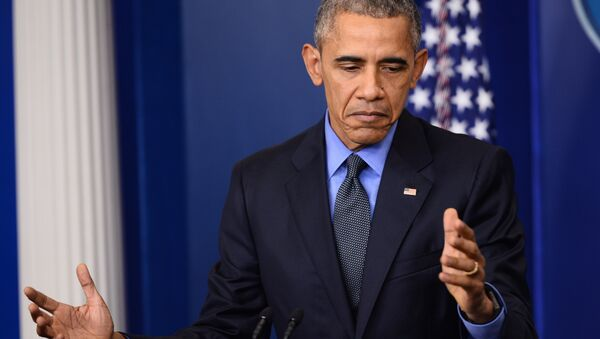 US President Barack Obama speaks during a press conference in the briefing room of the White House in Washington, DC (File) - Sputnik International