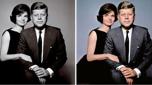John And Jacqueline Kennedy - Sputnik International