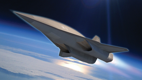 Concept drawing of a hypersonic aircraft - Sputnik International