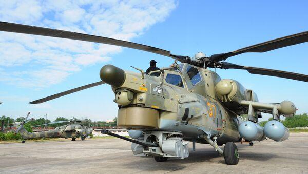 A Mil Mi-28-NE Havoc [Night Hunter] attack helicopter - Sputnik International