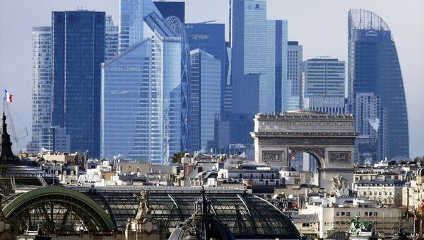 The skyline of the La Defense business district near Paris, France, is seen in this general view file picture taken on January 14, 2016. - Sputnik International