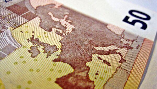Fifty Euro note - Sputnik International