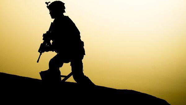 US soldier in Iraq - Sputnik International