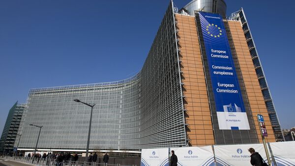 The European Commission headquarters is seen in Brussels, Belgium in this March 17, 2016 file photo - Sputnik International