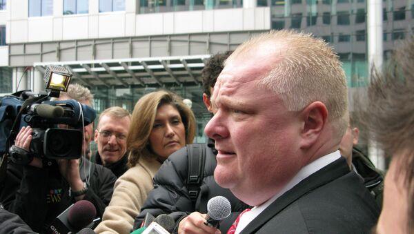 Rob Ford meets the press - Sputnik International