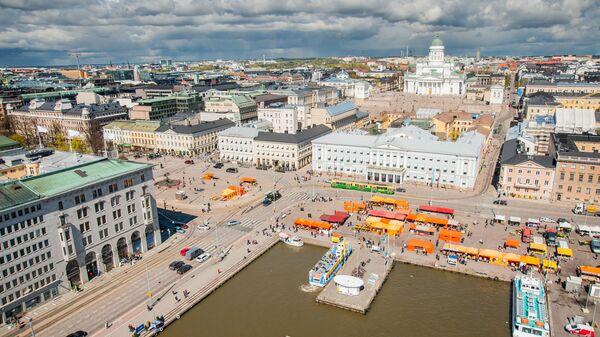 A scenic view of Helsinki, Finland - Sputnik International